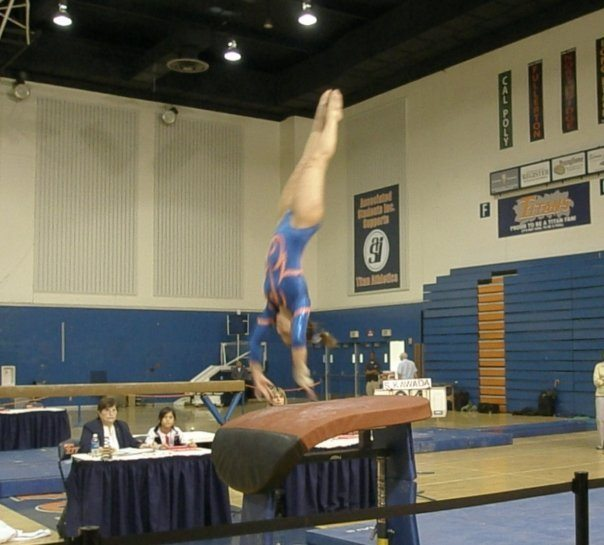 athlete to physician: college gymnast in competition