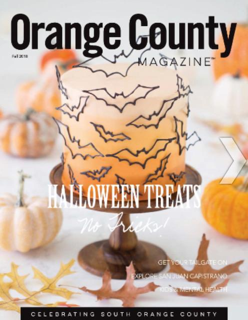 Return to Play: Picture of Cover of Orange County Magazine Fall 2018 Edition